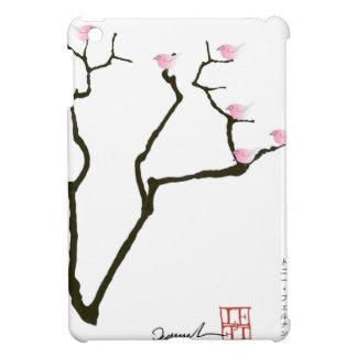 Sakura et 7 oiseaux roses 1, fernandes élégants coques iPad mini