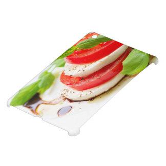 Salade de Caprese. Tranches de tomate et de Coques Pour iPad Mini