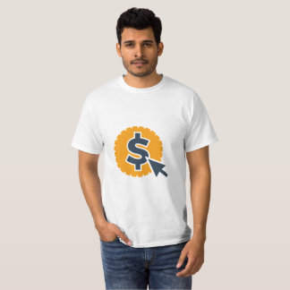 Salaire par T-shirt de clic