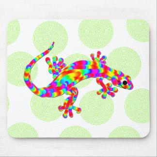 Salamandre Mousepad d'arc-en-ciel d'amusement Tapis De Souris