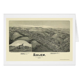 Salem, carte panoramique de WV - 1899