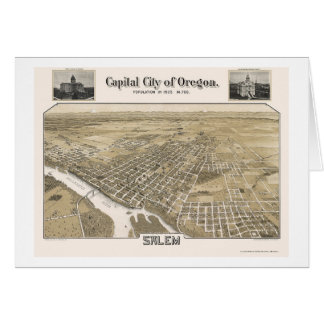 Salem, OU carte panoramique - 1905