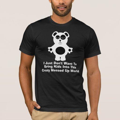 Sali monde fou t-shirts
