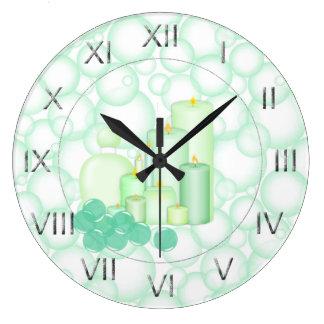 De Salle De Bains Horloges De Salle De Bains Horloges Murales