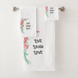 Salle de bains vivante d'invité d'amour de rire