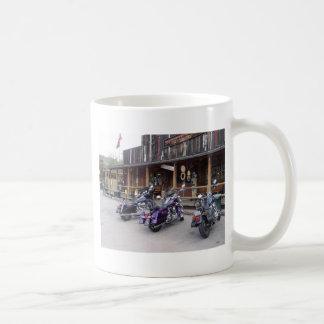Salle occidentale de motos de Harley Davidson Tasses À Café