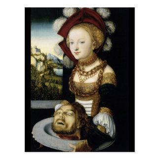Salome avec la tête du baptiste de John Cartes Postales
