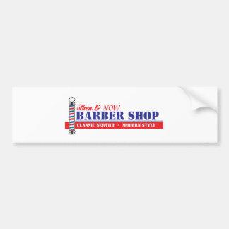 Salon de coiffure autocollant de voiture