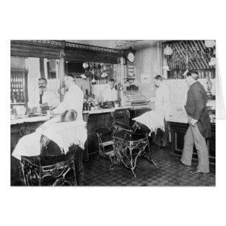 Cartes de v ux salon coiffure for Salon de coiffure new york