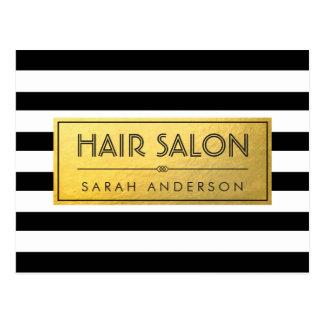 Cartes postales salon coiffure personnalis es for A la mode salon atlanta