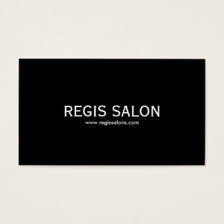 SALON de REGIS, www.regissalons.com Cartes De Visite