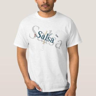 Salsa - l'amour vivant apprécient la danse t-shirt