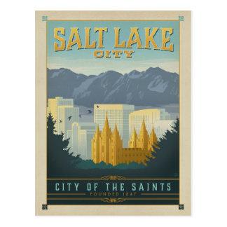 Salt Lake City, UT Carte Postale