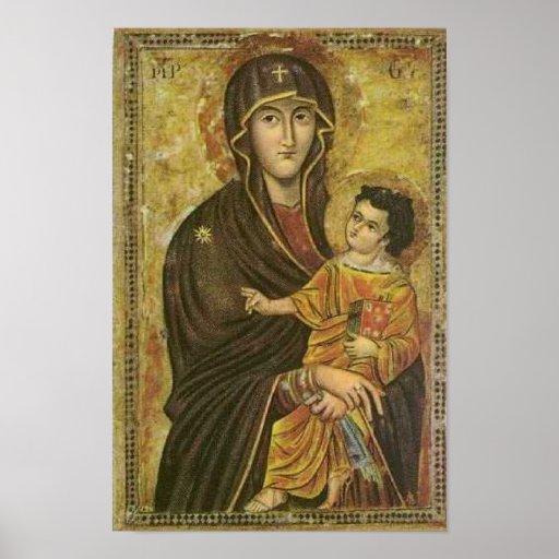 Salus Populi Romani Pictura de S. Maria Majore Affiches