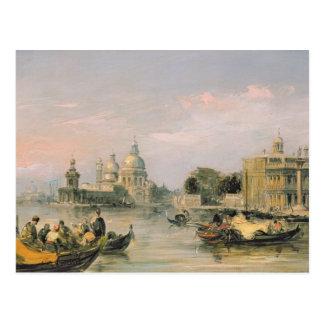 Salut de della Santa Maria, Venise, 19ème siècle Carte Postale