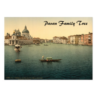 Salut de della Santa Maria Venise Italie Modèles De Cartes De Visite