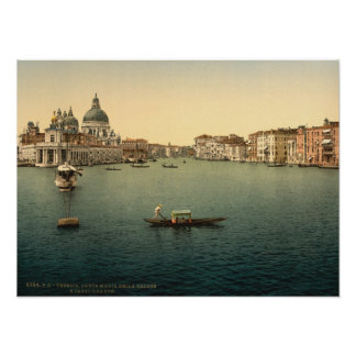 Salut de della Santa Maria, Venise, Italie Poster