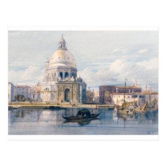 Salut de della Santa Maria, Venise par William Cartes Postales