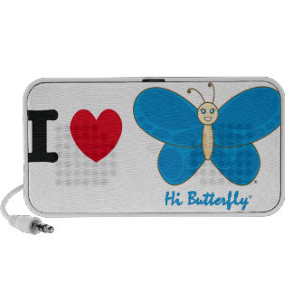 Salut haut-parleurs de Butterfly®