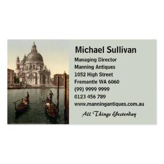 Salut I, Venise, Italie de della Santa Maria Carte De Visite Standard
