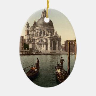 Salut I, Venise, Italie de della Santa Maria Ornement Ovale En Céramique