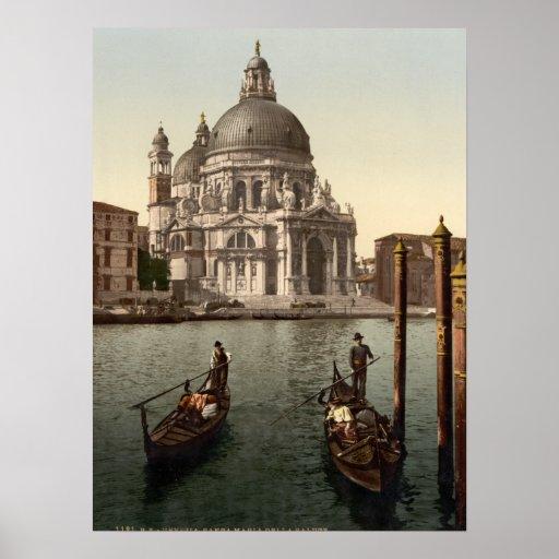 Salut I, Venise, Italie de della Santa Maria Posters