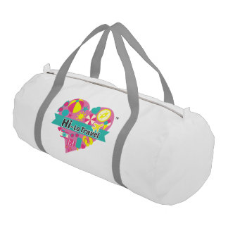 Salut-Lo sac de gymnase de voyage - blanc de neige