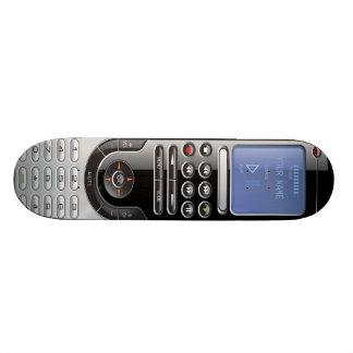 Salut planche à roulettes à télécommande de mini skateboard 18,4 cm