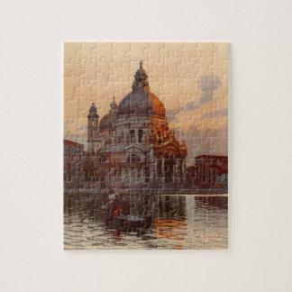 Salut Santa Maria Della de Di de basilique à Venis Puzzles Avec Photo