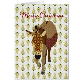Salutation d'arbre de Noël de Moïse Cartes