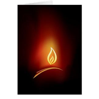 Salutation de Diwali Carte De Vœux