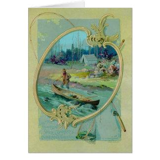 Salutation de Woolson Spice Company Carte De Vœux