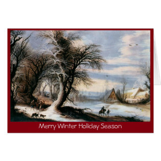 Salutation traditionnelle de nouvelle année de carte de vœux