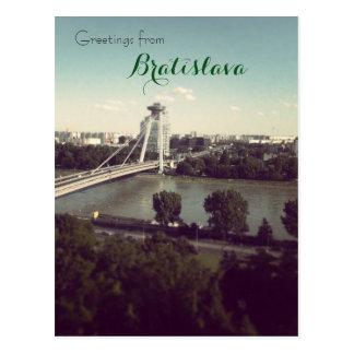 Salutations de Bratislava Cartes Postales