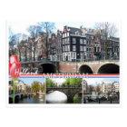 Salutations de carte postale de la Hollande -