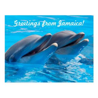 Salutations de carte postale de la Jamaïque