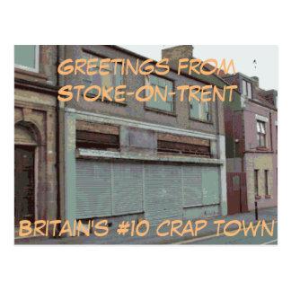 Salutations de Charger-Sur-Trent carte postale
