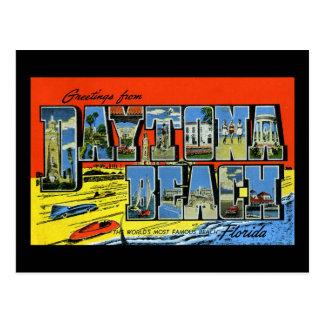 Salutations de Daytona Beach la Floride Carte Postale