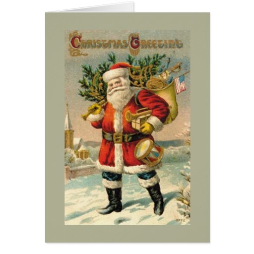 Salutations de Noël Cartes De Vœux