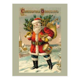 Salutations de Noël Cartes Postales