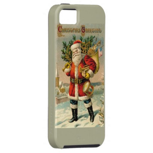 Salutations de Noël Coques iPhone 5