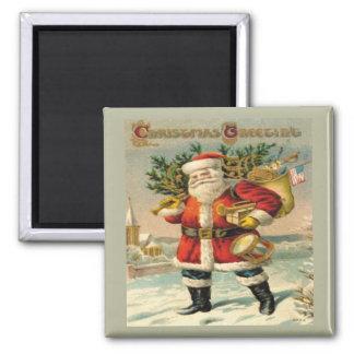 Salutations de Noël Magnets