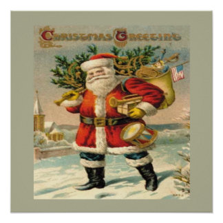Salutations de Noël Affiches