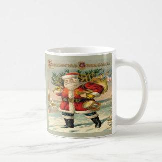 Salutations de Noël Tasse À Café