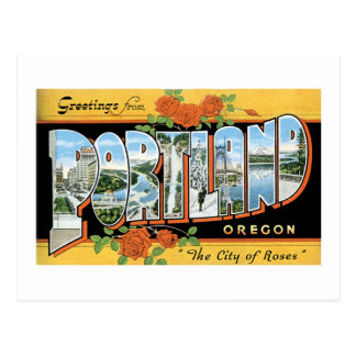 Salutations de Portland, Orégon ! Cartes Postales