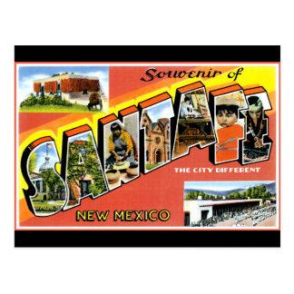 Salutations de Santa Fe Carte Postale