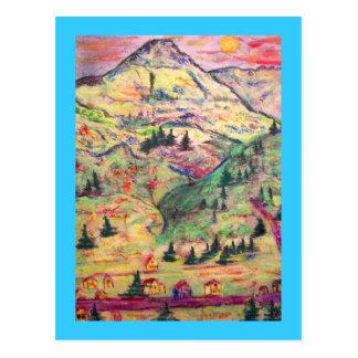 Salutations de tellurure cartes postales