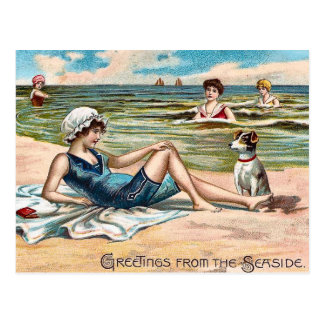 Salutations du bord de la mer !  Carte postale