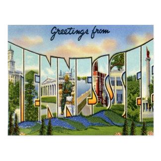 Salutations du Tennessee Carte Postale