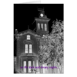 Salutations gothiques de Grimm Halloween Cartes